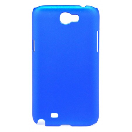 Case Faceplate Ancus for Samsung N7100 Galaxy Note II Velvet Feel Dark Blue