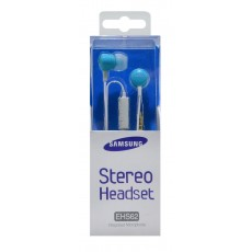 Hands Free Stereo Samsung EHS62 for B6520/B7350 3.5 mm Blue