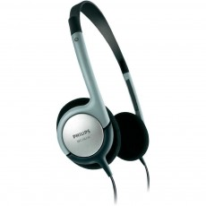 Philips Headphone SBCHL145 Stereo Black - Silver  for mp3, mp4 and Sound Devices