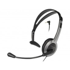 Wired Headset Panasonic KX-TCA430 Black 2.5mm compatible with Panasonic, Philips, Gigaset Dect