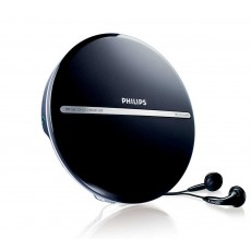 Portable MP3-CD Player Philips EXP2546/12 Black with Headphones