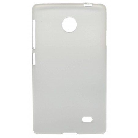 Case TPU Ancus for Nokia X Dual Sim Frost - Transparent