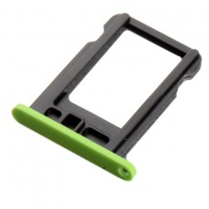 Sim Card Tray Sim Apple iPhone 5C Green Original
