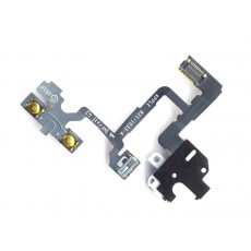 Jack Connector Apple iPhone 4 with Volume and Mute Button White OEM Type A