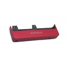 Outer Bottom Cover Sony MT27i Xperia Sola Red Original 1257-8026