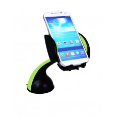 Universal Car Mount Lention 360° Green for Smartphones 3.5'' to 7'' Inches