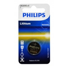 Buttoncell Lithium Electronics Philips CR2016 Pcs. 1
