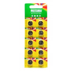 Buttoncell Motoma LR44 AG13 Pcs. 10