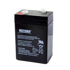 Battery for UPS Motoma SLA-MS6V4 (6V 4.0 Ah) 0,7 kg 95mm x 70mm x 45mm
