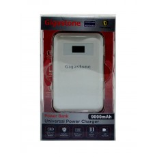 Power Bank Gigastone P2S-90S 9000 mAh Dual White with Led Power Display