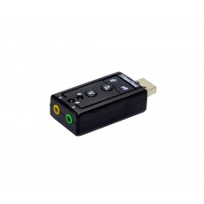 Mobilis Usb Virtual 7.1 Channel External Sound Card
