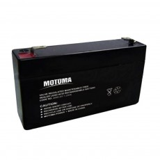 Battery for UPS Motoma SLA-MS6V1.2 (6V 1.2 Ah) 0.30 kg 95mm x 50mm x 20mm