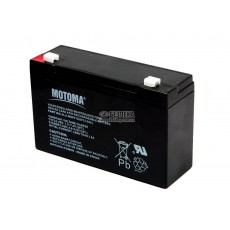 Battery for UPS Motoma SLA-MS6V12 (6V 12.0 Ah) 1.7 kg 150mm x 90mm x 50mm