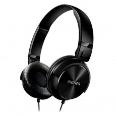 Philips Stereo Headphone DJ-Style Reversible 1000 mW 32mm SHL3060BL 3.5 mm black for mp3, mp4 and sound devices