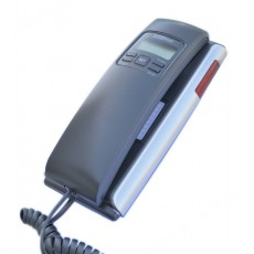 Telephone Maxcom KXT400 Grafite - Silver with Lcd and Incoming Ringing Led Indicator
