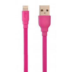 Data Cable Desoficon C10 ICA0020 1.5m 2.4A for iPhone/iPad/iPod Lightning Pink Apple Certified MFI
