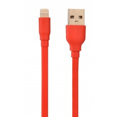 Data Cable Desoficon C10 ICA0020 1.5m 2.4A for iPhone/iPad/iPod Lightning Red Apple Certified MFI