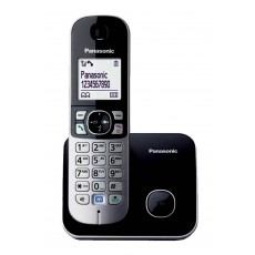 Dect/Gap Panasonic KX-TG6811GRB Black with Power Back-Up Operation and ECO mode
