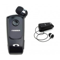 Bluetooth hands free Fineblue F920 Black with Bluetooth 4.0 Version, Expanded Receiver, Motor, and Charging Cable