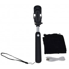 Selfie Stick Ancus Mini Bluetooth Black (Closed 18cm, with Extention 72cm )