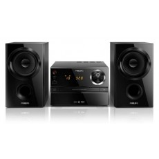 HiFi Micro System Philips  30W BTM1360 Black with MP3 Link,USB Port and Bluetooth