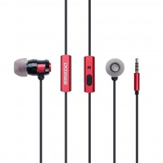 Hands Free in-Earbud Stereo 3.5 mm Doogee Vienna Red - Black