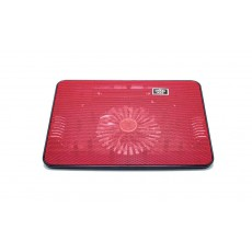 Laptop Cooler Mobilis Cooling Pad A6 Red for Laptop up to 15""