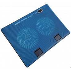 Laptop Cooler Mobilis Cooling Pad 668 Blue for Laptop up to 17""