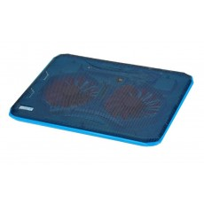 Laptop Cooler CoolCold Ice Thin K19 Blue for Laptop up to 17""