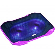 Laptop Cooler Mobilis Popu Pine F2 Purple for Laptop up to 17""