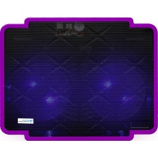 Laptop Cooler CoolCold Ice Thin K17-1(2 FANS) Purple for Laptop up to 15.6""