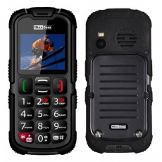 "Maxcom MM910 (Dual Sim) 2"" Water-dust proof IP67 with Torch, FM Radio (Works without Handsfre) and Camera Black"