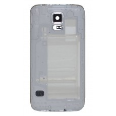 Middle Frame Cover Samsung SM-G900F Galaxy S5 with Jack Conn, Receiver and Buzzer White OEM Type A