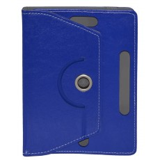 "Book Case Ancus Rotate Universal for Tablet 8"" Inches Blue (22 cm x 16 cm)"
