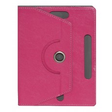 "Book Case Ancus Rotate Universal for Tablet 8"" Inches Fuchsia (22 cm x 16 cm)"