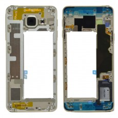 Middle Frame Cover Samsung SM-A310F Galaxy A3 (2016) with Buzzer and On/Off, Volume Button Gold Original GH97-18074A