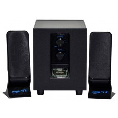 Speaker Stereo Muvgd M-606 2.1 2.5Wx2+6W RMS Black with EU plug 20x7x6cm