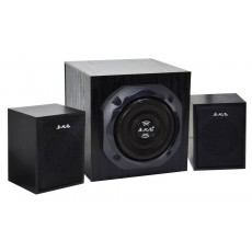 Speaker Stereo Music-F D-Y3 2.1 5Wx2+3W RMS Black with EU plug 15x10x9.5cm