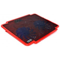 Laptop Cooler Mobilis K17 Red for Laptop up to 15.6""