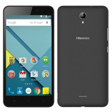 "Hisense F20 4G LTE (Dual SIM) 5.5"" Android 5.1 1280*720 IPS Quad-Core 1 GHz 1GB/8GB Black"