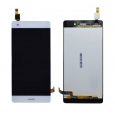 Original LCD with Digitizer for Huawei Ascend P8 Lite White without Frame