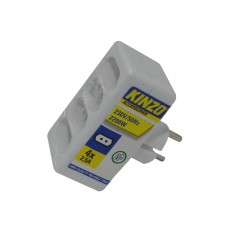Power Adapter Kinzo Suco 4x2.5A with Protection (4x2.5A - 230V-50Hz-2200W)