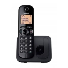 Dect/Gap Panasonic KX-TGC210GRB Black with Speakerphone, Call Block and Eco Function