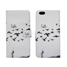 Book Case Ancus Art Collection for Apple iPhone 6 Plus/6S Plus Faith