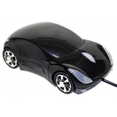 Mobilis Car AA-07 Wired Mouse 3 Button 1200 DPI Black (100*50*35mm)