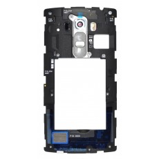 Middle Frame Cover  LG G4s H735 with Buzzer, Antenna and Camera Lens Grey Original ACQ88391601