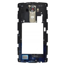 Middle Frame Cover  LG G4 H815 with Buzzer, Antenna and Camera Lens Gold Original ACQ87895152