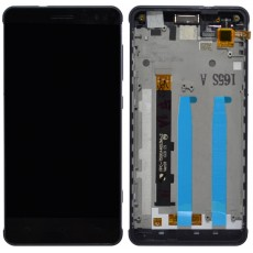 Original LCD & Digitizer Hisense C20 Black with Frame and Receiver 1017674