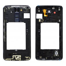 Middle Frame Cover LG K8 K350N with Buzzer, Antenna and Camera Lens Black Original ACQ88658811