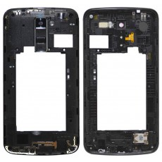 Middle Frame Cover LG K10 K420N with Buzzer, Antenna and Camera Lens Black Original ACQ88996701